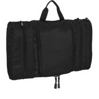 eBags Pack-it-Flat Toiletry Kit (Black w/expandable)