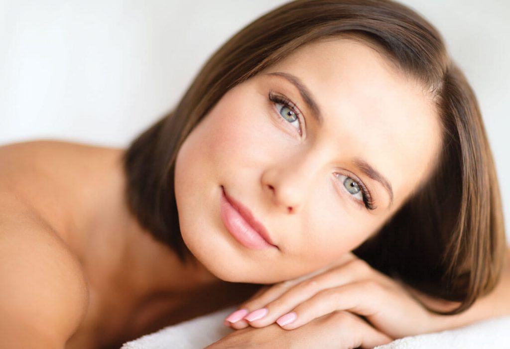 Anti-Aging Skin Forever with steaming face
